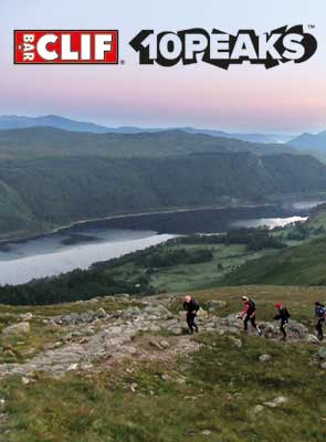 The Clif Bar 10 Peaks Events 2013 – Wales Vs England