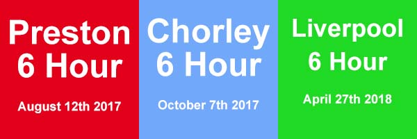 Preston, Chorley, Liverpool 6 Hour Race Series 2017/2018
