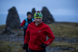 Damian Hall set a new record time for the 185-mile Wainwright's Coast to Coast route.